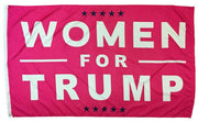 Trump Women For Pink 3x5 Flag