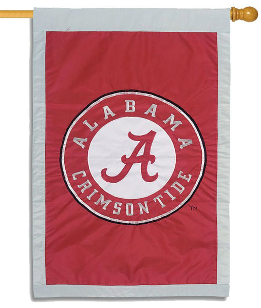 University of Alabama Crimson Tide Applique House Flag
