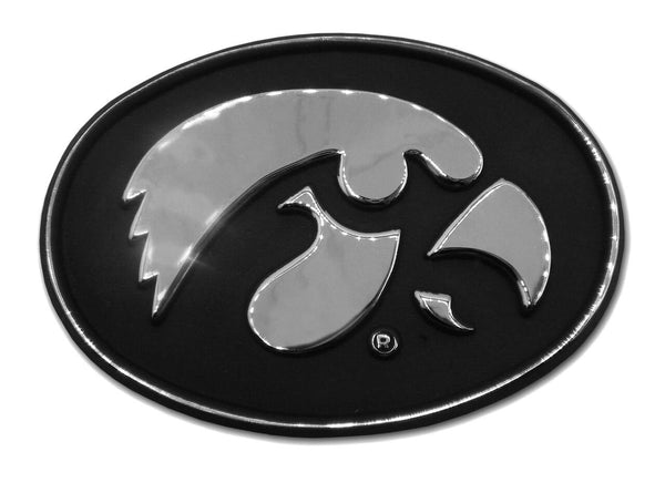 University of Iowa Hawkeyes Chrome Car Emblem