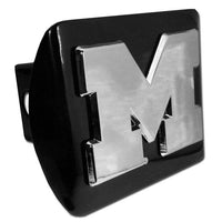 "University of Michigan ""M"" Black Hitch Cover"