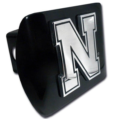 University of Nebraska Iron N Black Hitch Cover