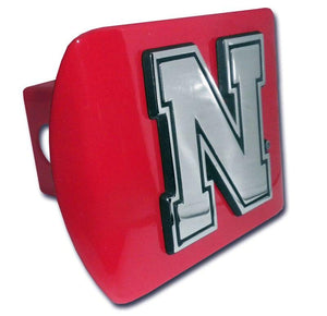 University of Nebraska Iron N Red Hitch Cover