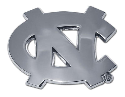University of North Carolina Chrome Car Emblem