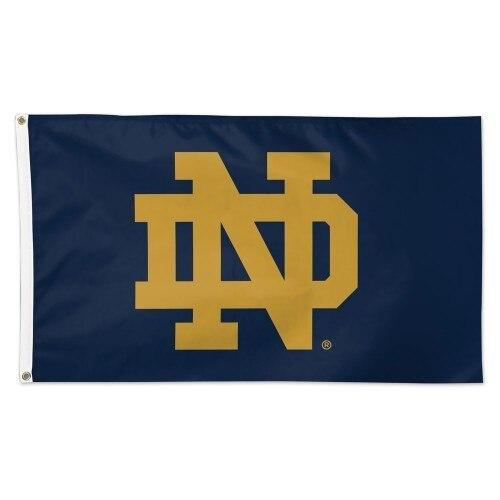 University of Notre Dame ND Flag 3x5 Deluxe