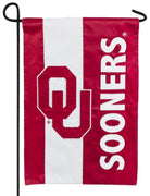 University of Oklahoma Embellished Applique Garden Flag