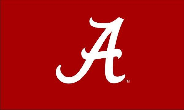 University of Alabama A Applique 3x5 Flag
