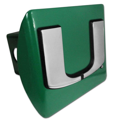 University of Miami Green Hitch Cover
