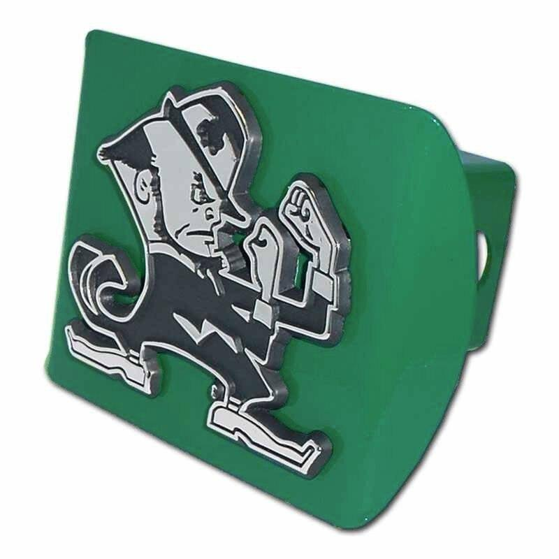 University of Notre Dame Leprechaun Green Hitch Cover
