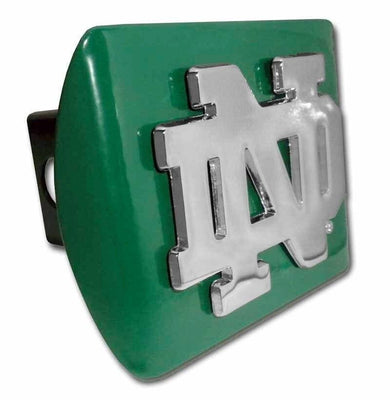 University of Notre Dame ND Green Hitch Cover
