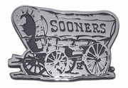 University of Oklahoma Sooner Schooner Chrome Car Emblem