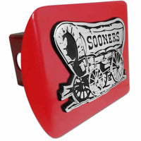 University of Oklahoma Sooner Schooner Red Hitch Cover
