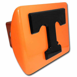 University of Tennessee Black T Orange Hitch Cover