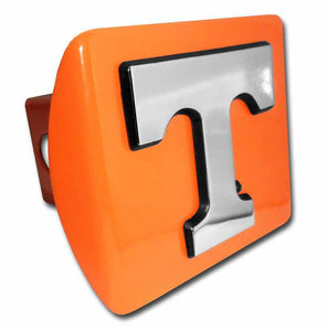 University of Tennessee Chrome T Orange Hitch Cover