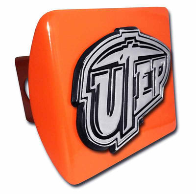University of Texas EL Paso Orange Hitch Cover