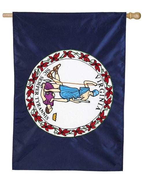 Virginia Applique House Flag