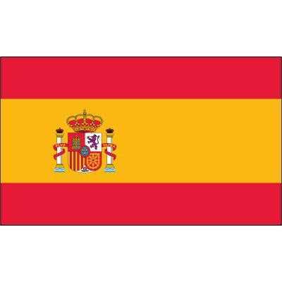 Spain Superknit Polyester 3x5 Flag