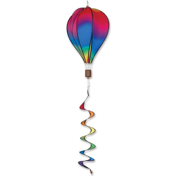 Wavy Gradient Hot Air Balloon With Tail Spinner