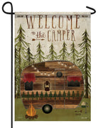 Welcome to the Camper Garden Flag