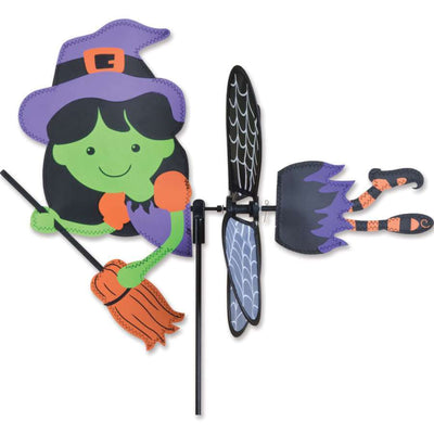 Witch Flying Petite Wind Spinner