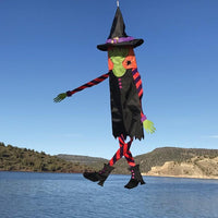 Witch Windsock Outside