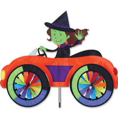 Witch in a Car Wind Spinner
