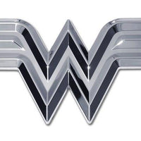 Wonder Woman 3D Chrome Car Emblem