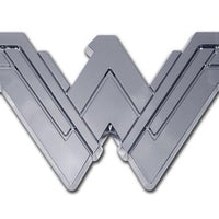 Wonder Woman Chrome Car Emblem