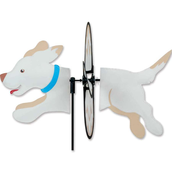 Yellow Lab Petite Wind Spinner
