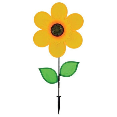 Yellow Sunflower Wind Spinner