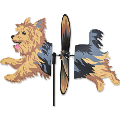 Yorkshire Terrier Petite Wind Spinner