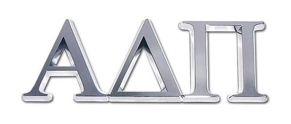 Alpha Delta Pi Sorority Chrome Car Emblem