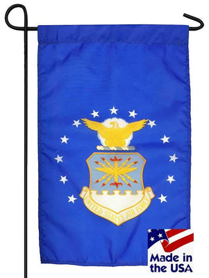 Air Force Nylon Garden Flag Made in the USA