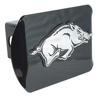 University of Arkansas Running Hog Black Hitch Cover