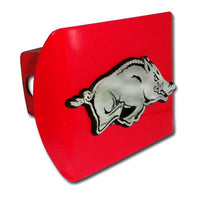 University of Arkansas Running Hog Red Hitch Cover