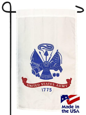Army Nylon Garden Flag Made in the USA