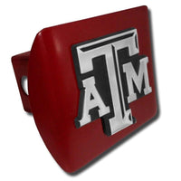 Texas A&M University ATM Maroon Hitch Cover