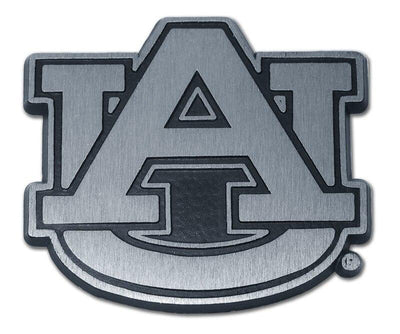 Auburn University Matte Chrome Car Emblem