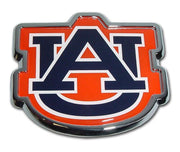 Auburn University Navy Chrome and Color Car Emblem