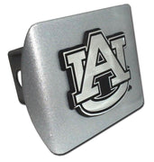 Auburn University Brushed Chrome Hitch Cover
