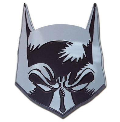 Batman Mask Chrome Car Emblem