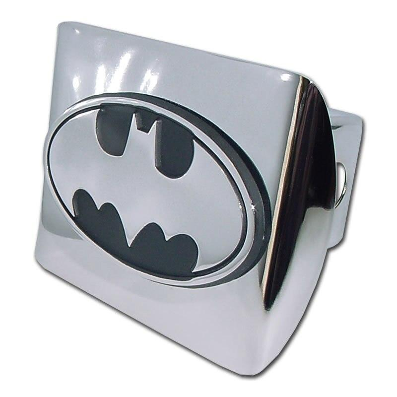 Batman Oval Chrome Hitch Cover