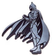 Batman Figurine Side View Chrome Car Emblem