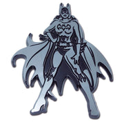 Batgirl Figurine Chrome Car Emblem