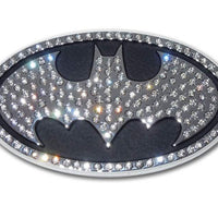 Batman Crystal Chrome Car Emblem - Chrome Car Emblems | Trailer Hitch Covers/DC Comics Emblems - I AmEricas Flags
