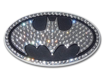 Batman Crystal Chrome Car Emblem