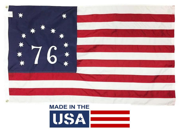 Bennington Flag 3x5 Nylon Made in the USA - Historical Flags/Revolutionary War Flags - I AmEricas Flags