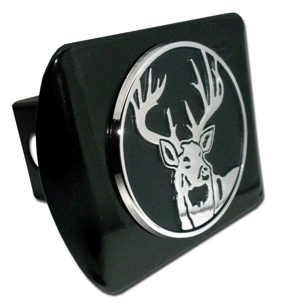 Buck Black Hitch Cover