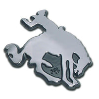 Bucking Bronco Chrome Emblem