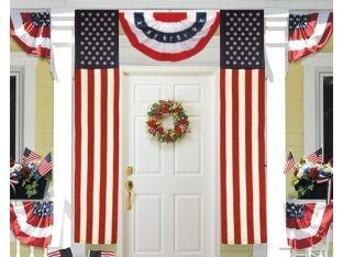 2 Ply Polyester 50 Star American Flag Pulldown