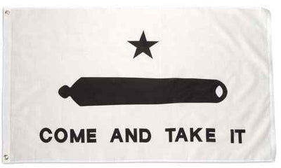 Gonzales Come and Take It 3x5 Flag Double Sided Printed Polyester